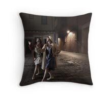 Ballarat Night 2 Throw Pillow