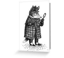 Fox -  Boy Greeting Card