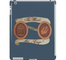 The Bird or the Cage? iPad Case/Skin