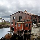 Old fisherhouse in Nyksund by MelliCaster