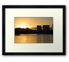 Tweed skyline across Jack Evans Harbour Framed Print