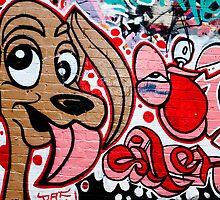 Graffiti dog by yurix