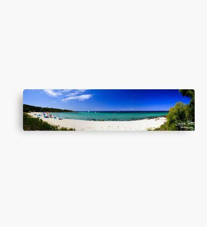 Meelup Beach Panorama Canvas Print