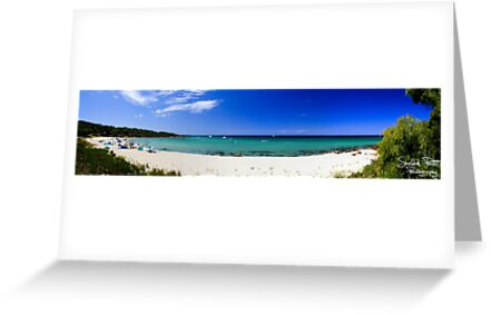 Meelup Beach Panorama by Sheldon Pettit
