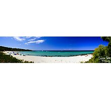 Meelup Beach Panorama Photographic Print