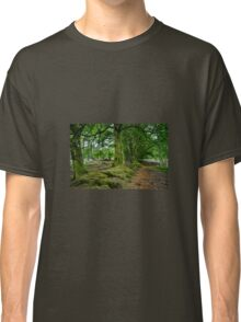 Woodland Scene, Scotland. UK Classic T-Shirt