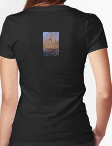 Swamp Scene  Womens Fitted T-Shirt