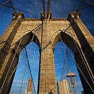 The Brooklyn Bridge by Gayan Benedict