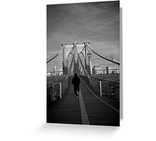 Escape from Brooklyn Greeting Card