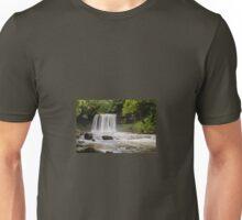 Sgwd Yr Eira Waterfall, Vale of Neath. UK Unisex T-Shirt