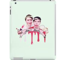 Dan & Phil Blindfold Make-up Challenge Print iPad Case/Skin