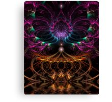 Psychedelic Fractal Circus Canvas Print