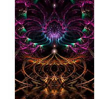 Psychedelic Fractal Circus Photographic Print