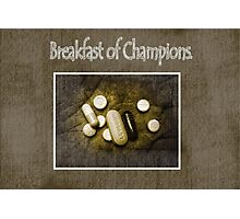 Breakfast of Champions Photographic Print
