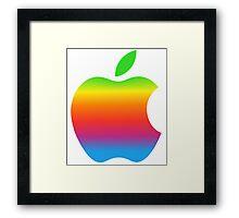 Apple Blend iPhone Framed Print