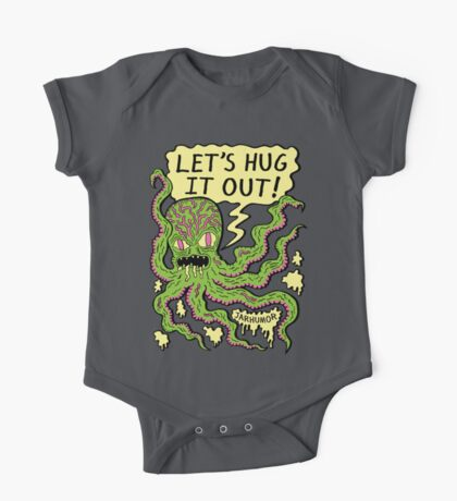 Lets Hug It Out One Piece - Short Sleeve