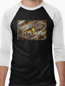 Steampunk - Spiral - Space time continuum Men's Baseball ¾ T-Shirt