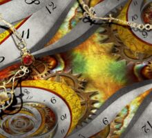 Steampunk - Spiral - Space time continuum Sticker