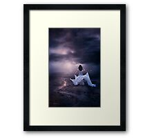 A Long Way To Happiness... Framed Print