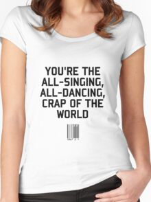 Crap of the World Women's Fitted Scoop T-Shirt