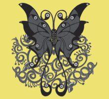 Grey Butterfly by Shelagh Linton