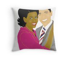 Michelle & President Obama~ Throw Pillow