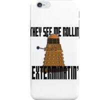 Dalek-millionaire iPhone Case/Skin