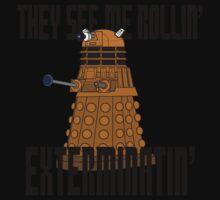 Dalek-millionaire Kids Tee