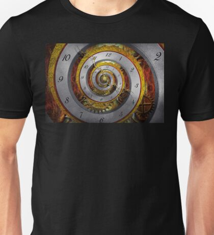 Steampunk - Spiral - Infinite time Unisex T-Shirt