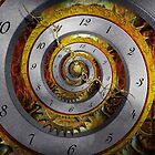 Steampunk - Spiral - Infinite time by Mike  Savad