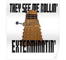 Dalek-millionaire Poster