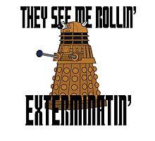 Dalek-millionaire Photographic Print