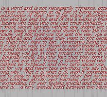 Love Is A Word (four) © Vicki Ferrari Cards by Vicki Ferrari