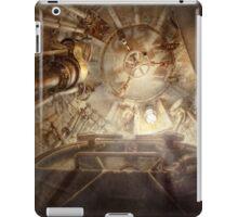 Steampunk - Naval - The escape hatch iPad Case/Skin