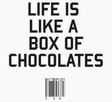 Life is Like a Box of Chocolates by upsidedownRETRO