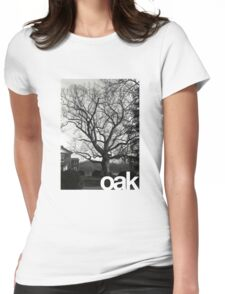 oak Womens Fitted T-Shirt