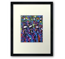 """Ned Kelly's Colourful Road"" Australia; iPad Case Framed Print"