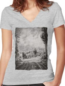 Shenandoah 007 Women's Fitted V-Neck T-Shirt