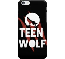 Teen Wolf & Scratch iPhone Case/Skin