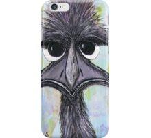 """""""Emma Emu"""" Australia; Phone Case iPhone Case/Skin"""