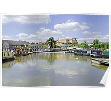 Bancroft Basin, Stratford-upon-Avon Poster