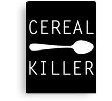 Cereal Killer Canvas Print