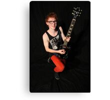 guitar hero Canvas Print