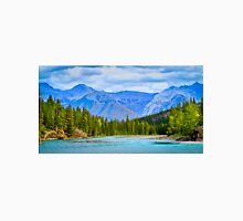 The Bow River - Banff, Alberta, Canada Unisex T-Shirt