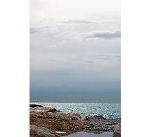 Silver sea, Finestrat Photographic Print