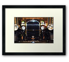 The art of the car: 1931 Pierce Arrow Full Frontal Framed Print