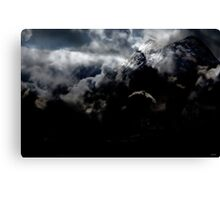 Part of the Summit of my Achievement. Canvas Print