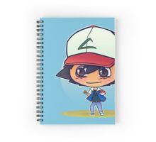 Ash Ketchum Spiral Notebook