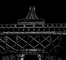 Tour Eiffel IV by Al Bourassa