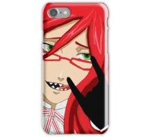Grell Sutcliff - A Deadly Efficient Butler Fan Art iPhone Case/Skin